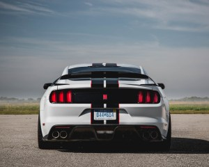 2016 Ford Mustang Shelby GT350R Exterior Rear View