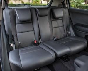 2016 Honda HR-V EX-L AWD Interior Rear Passengers Seats