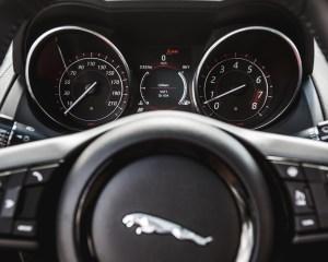2016 Jaguar F-Type S Coupe Interior Speedometer