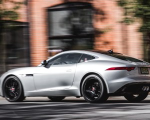 2016 Jaguar F-Type S Test Side and Rear View