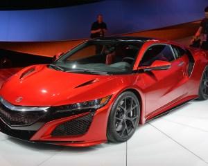 Auto Show: 2016 Acura NSX