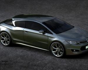 Citroen DS5 Coupe Design Concept