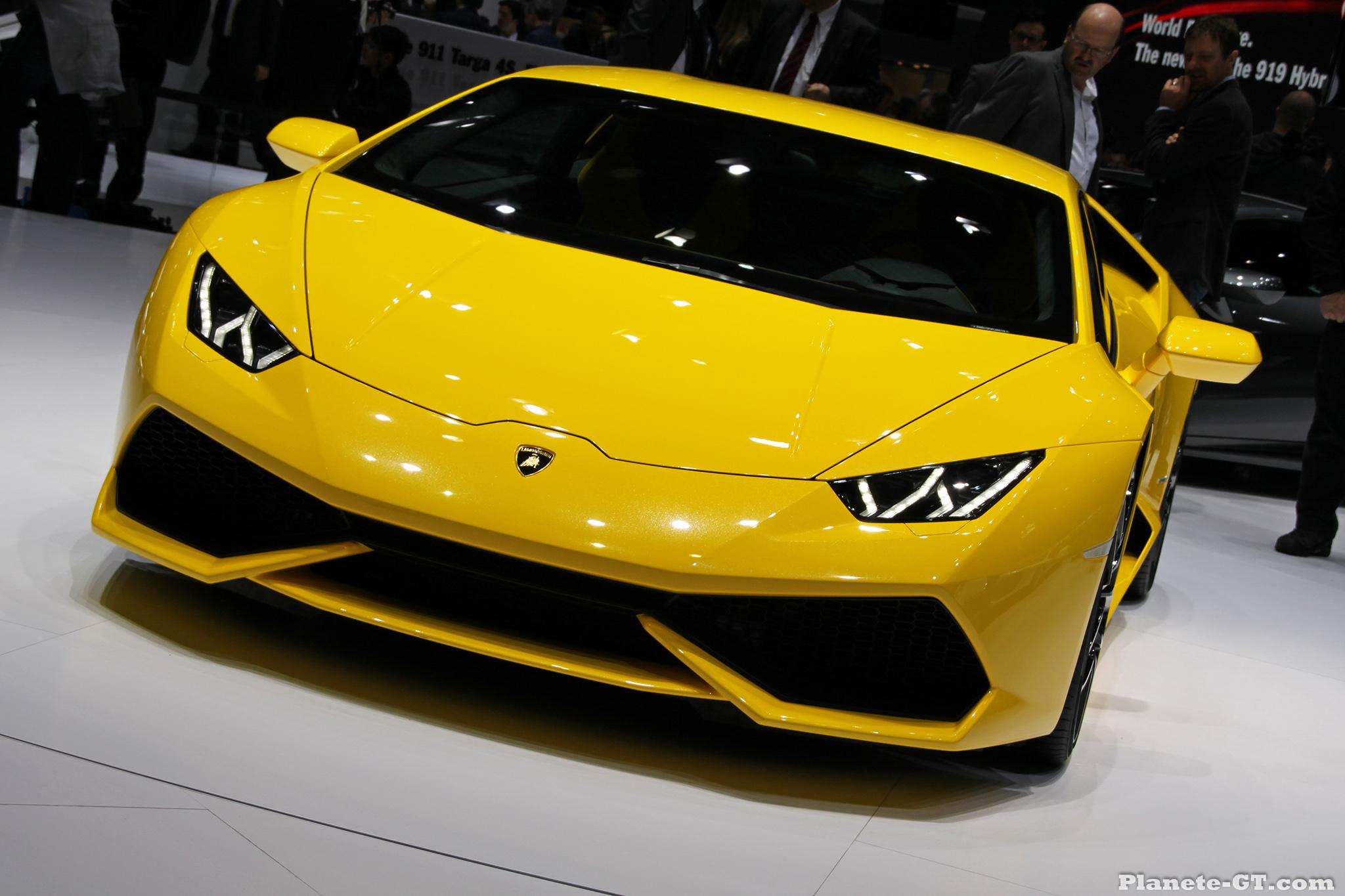 Front End Exterior: 2015 Lamborghini Huracan LP610-4