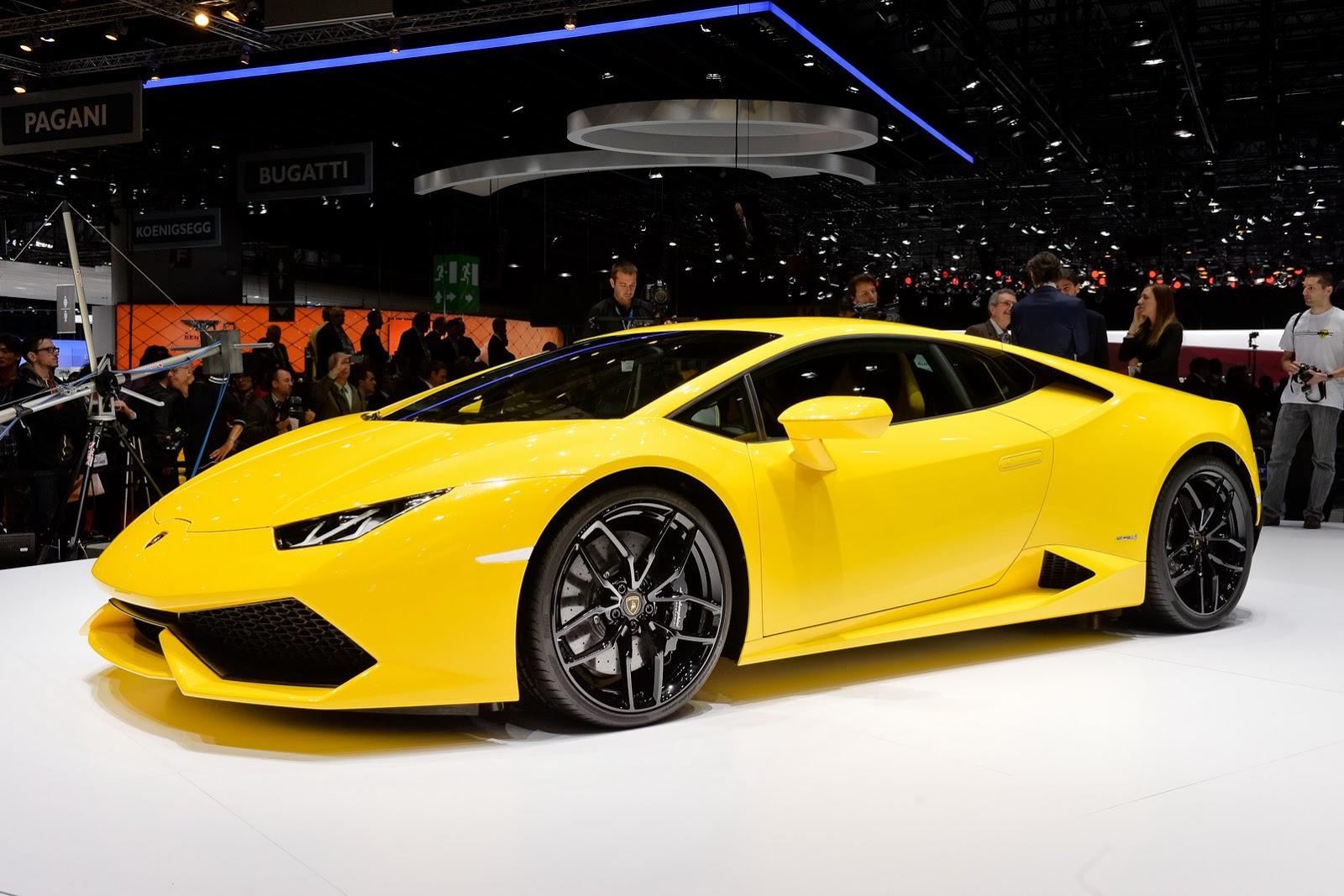 Motor Show: New 2015 Lamborghini Huracán LP 610-4