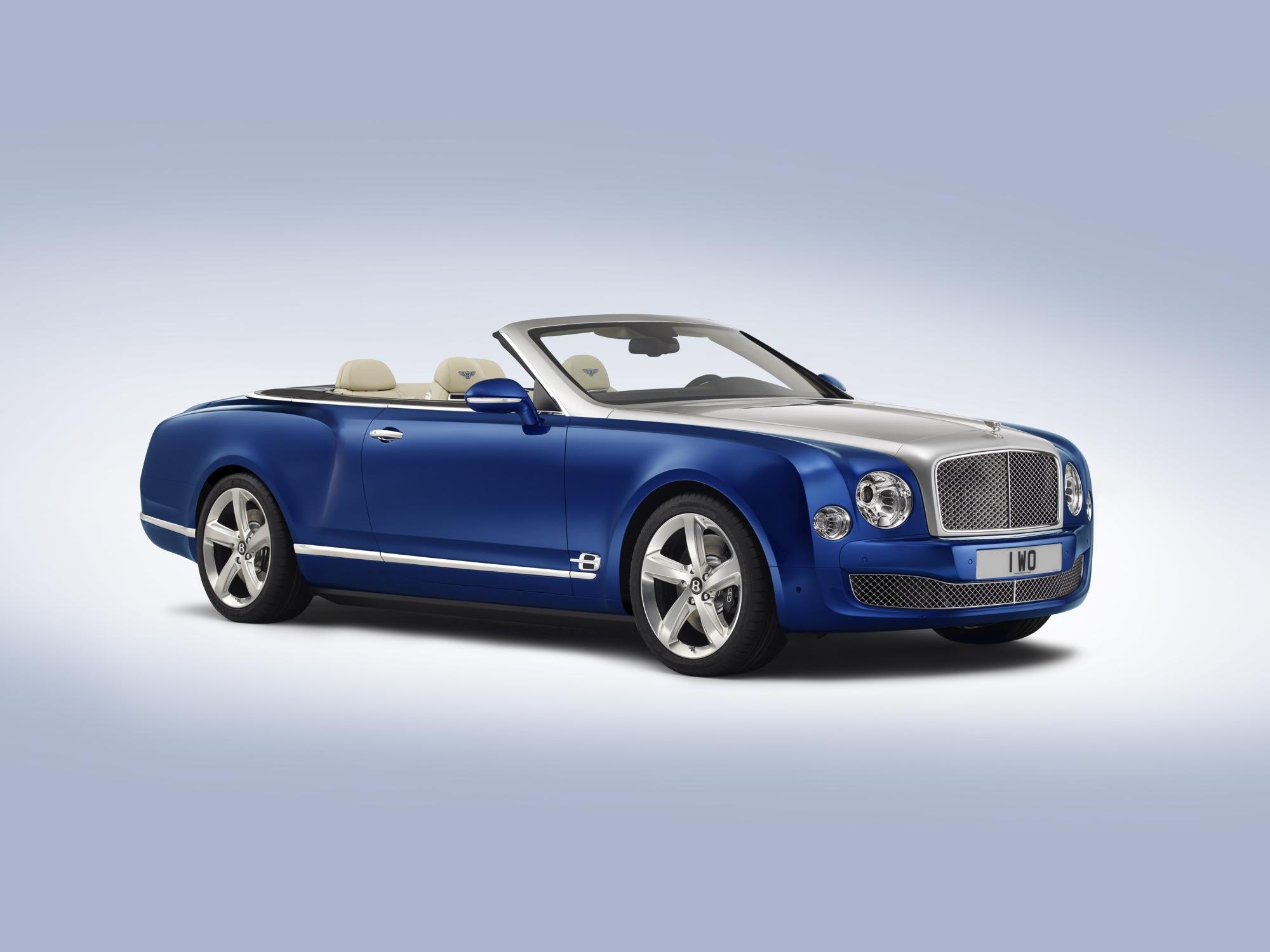 Next 2016 Bentley Grand Convertible Concept