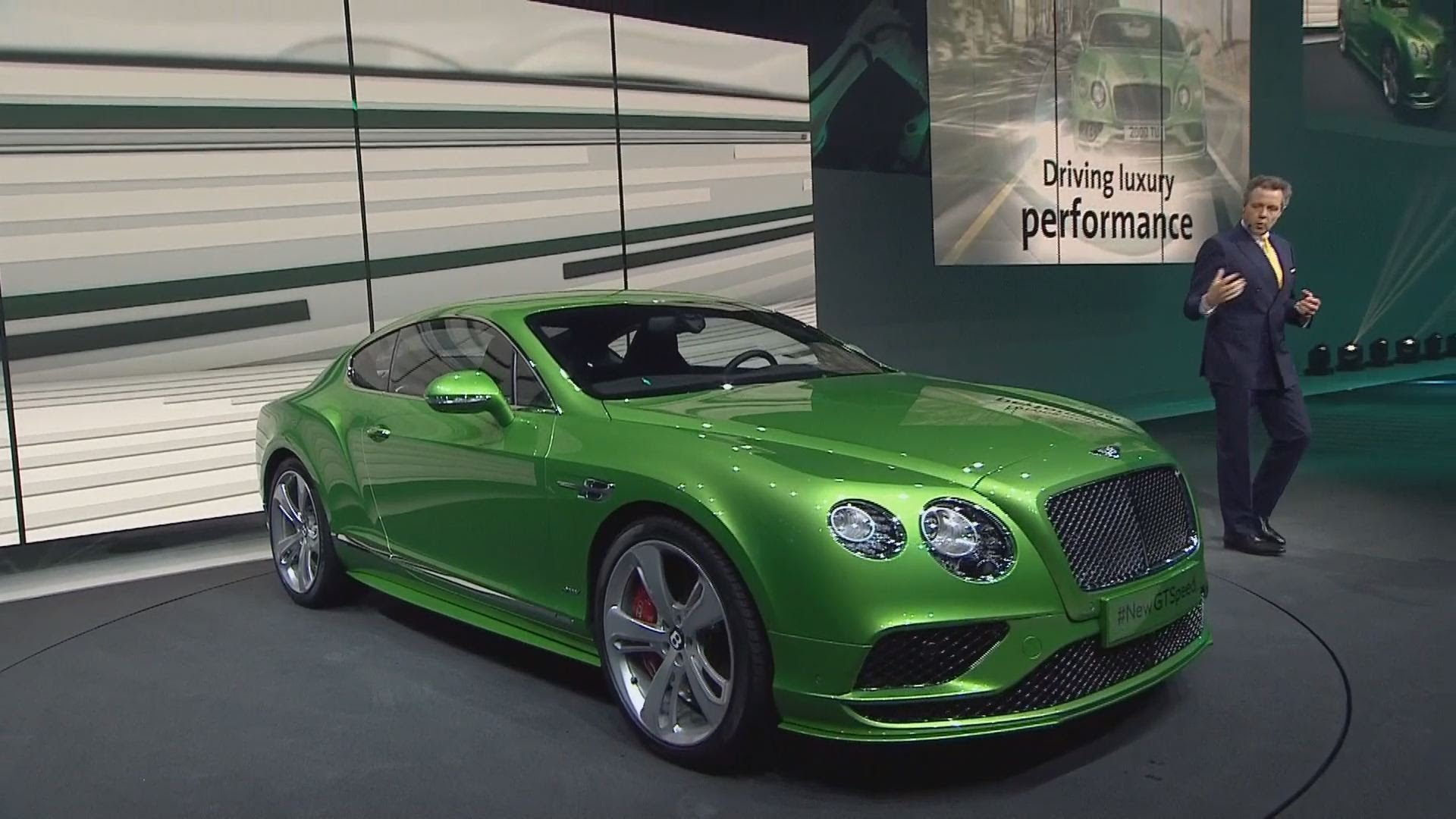 Overview: 2016 Bentley Continental GT Speed