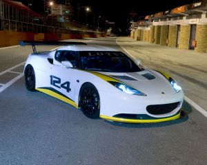 Race Car: 2010 Lotus Evora GT4