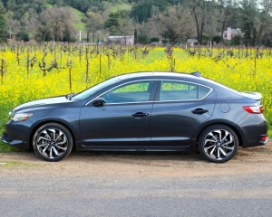 Side Exterior Preview: 2016 Acura ILX