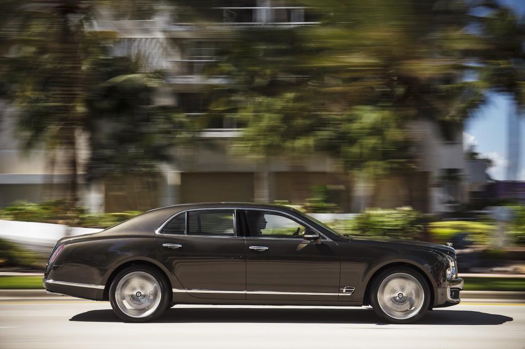 Side Photo: 2016 Bentley Mulsanne
