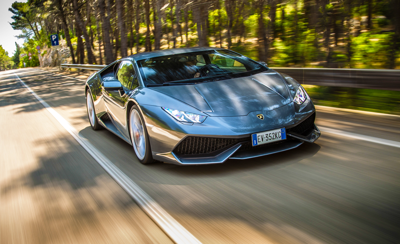 Test Drive: 2015 Lamborghini Huracan LP610-4