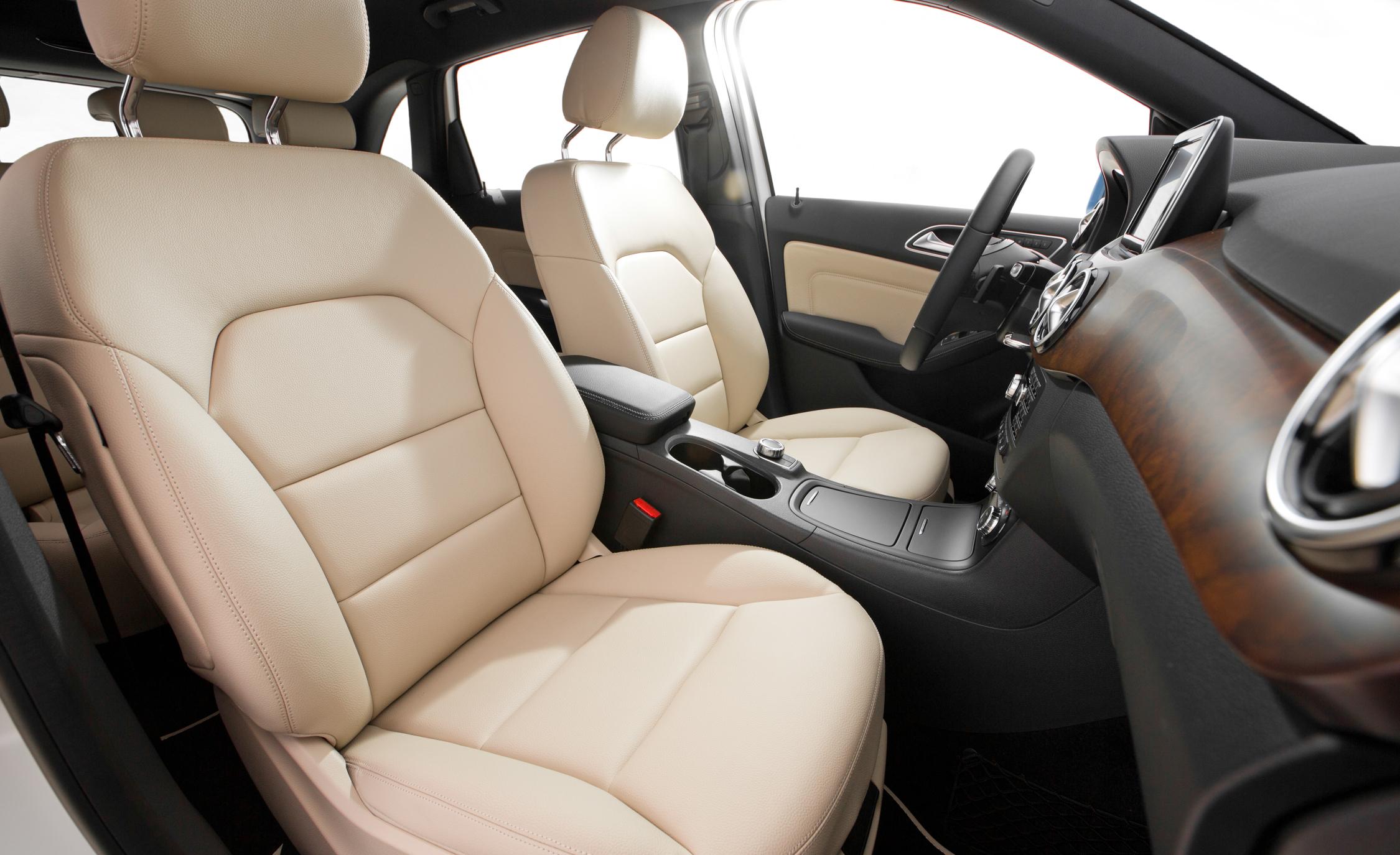 2014 Mercedes-Benz B-Class Interior Front Passenger Seat