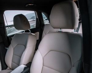 2014 Mercedes-Benz B-Class Interior Front Seats