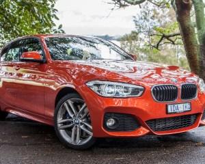 2015 BMW 125i Orange