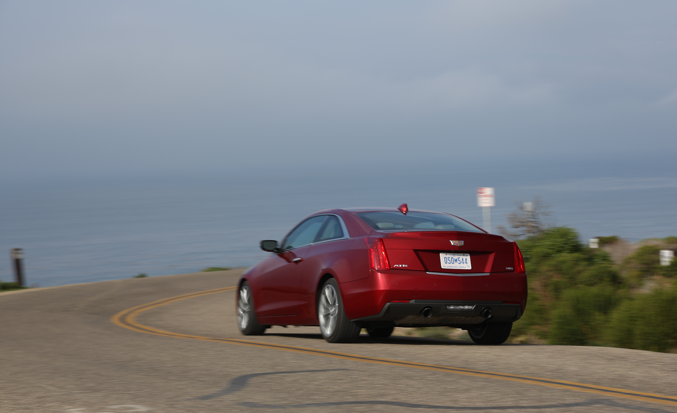 2015 Cadillac ATS Coupe 3.6 Rear Design
