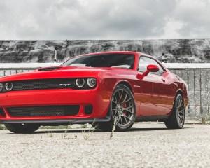 2015 Dodge Challenger SRT Hellcat Exterior Full Front and Side