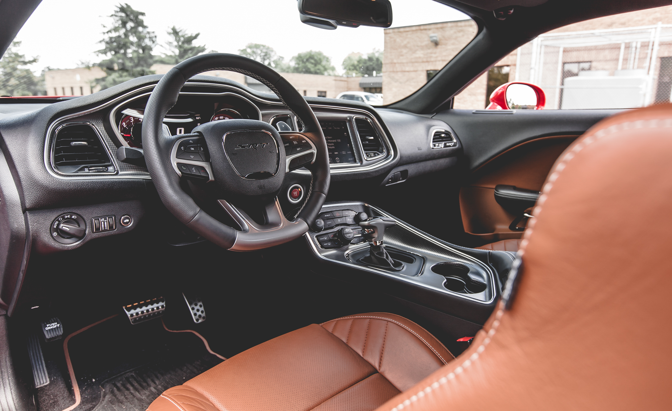 2015 Dodge Challenger SRT Hellcat Interior Cockpit