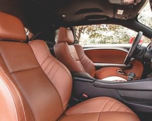 2015 Dodge Challenger SRT Hellcat Interior Front Passenger Seat