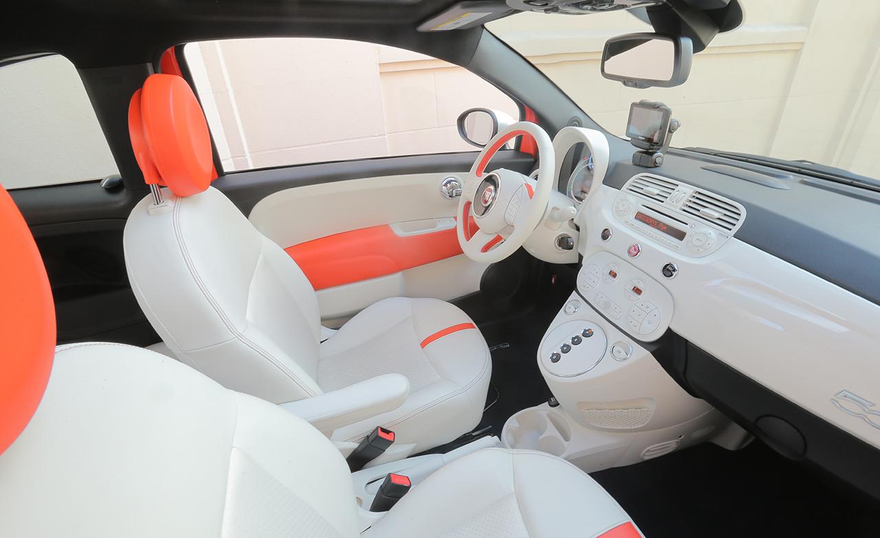 2015 FIAT 500e Interior Cockpit Seat