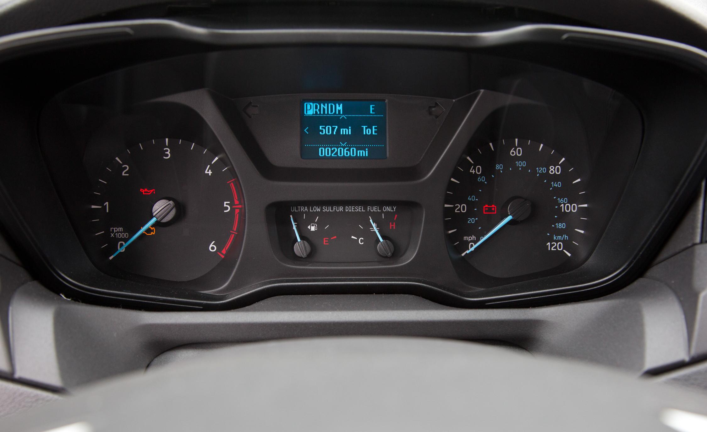 2015 Ford Transit 150 EcoBoost Speedometer