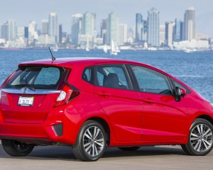 2015 Honda Fit Exterior Rear and Side
