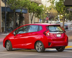 2015 Honda Fit Exterior Side