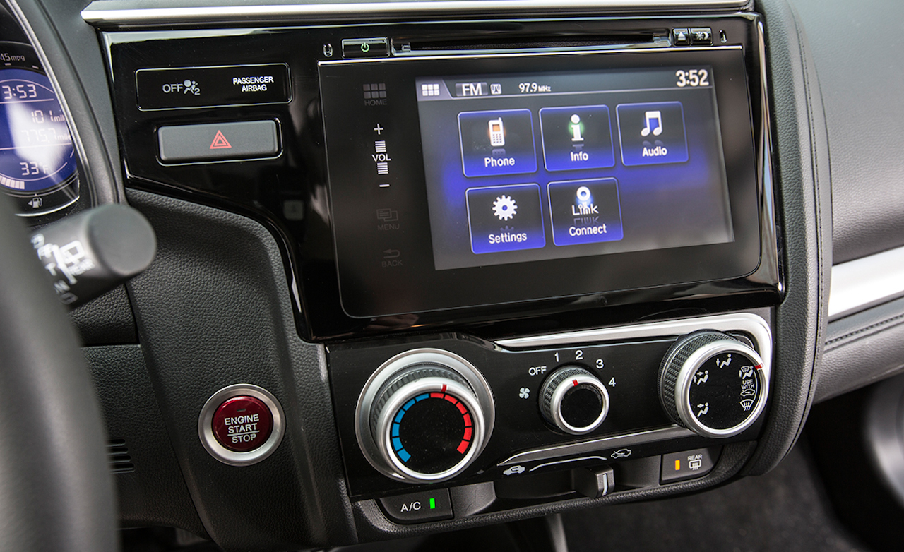 2015 Honda Fit Interior Center Head Unit