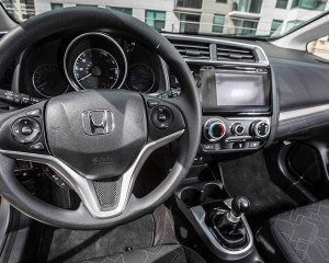 2015 Honda Fit Interior Steering and Dashboard