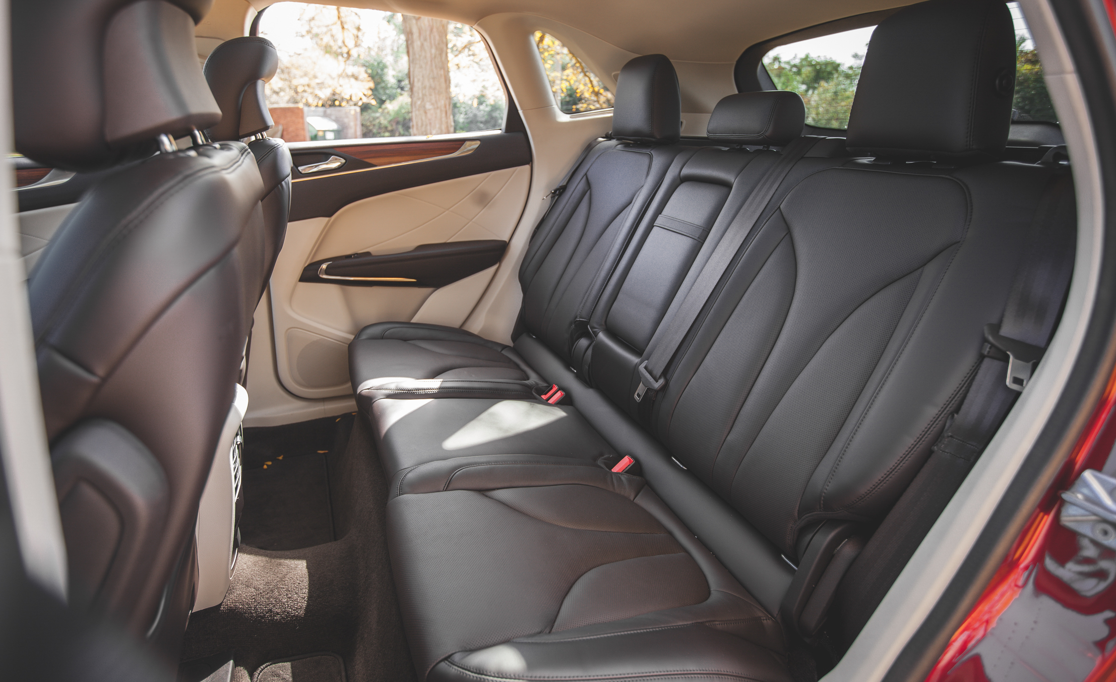 2015 Lincoln MKC 2.3 EcoBoost AWD Rear Seats Interior