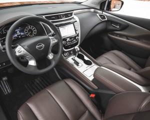 2015 Nissan Murano Platinum AWD Interior Cockpit