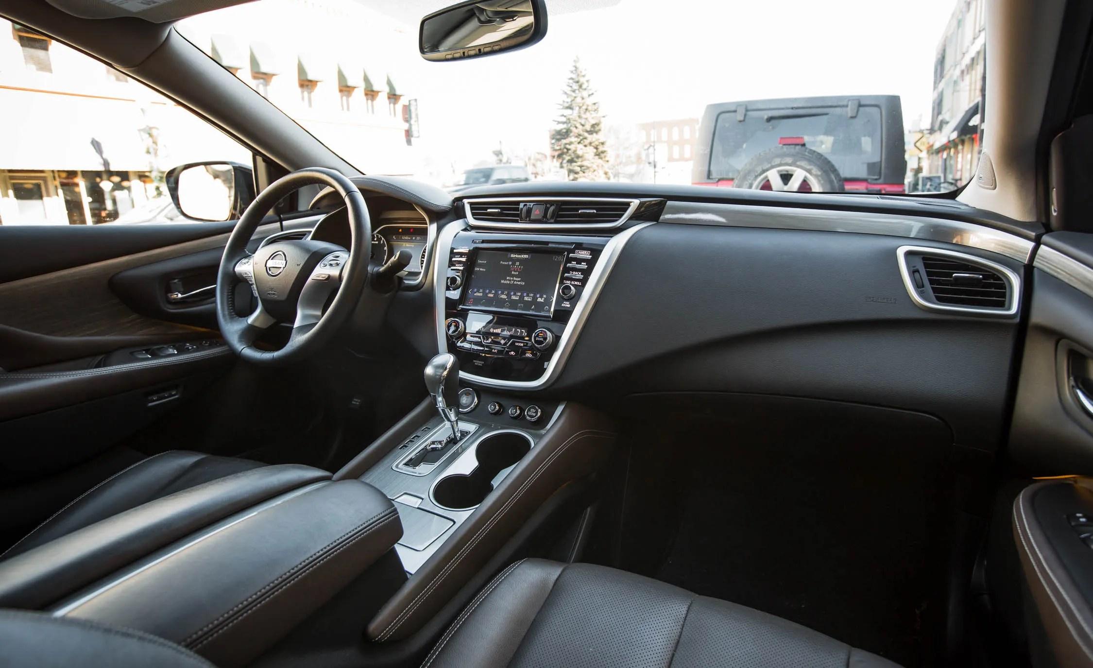 2015 Nissan Murano Platinum AWD Interior Dashboard