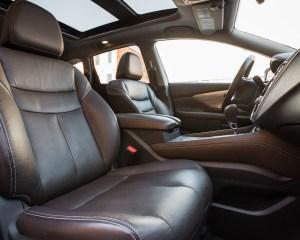 2015 Nissan Murano Platinum AWD Interior Front Passenger Seat