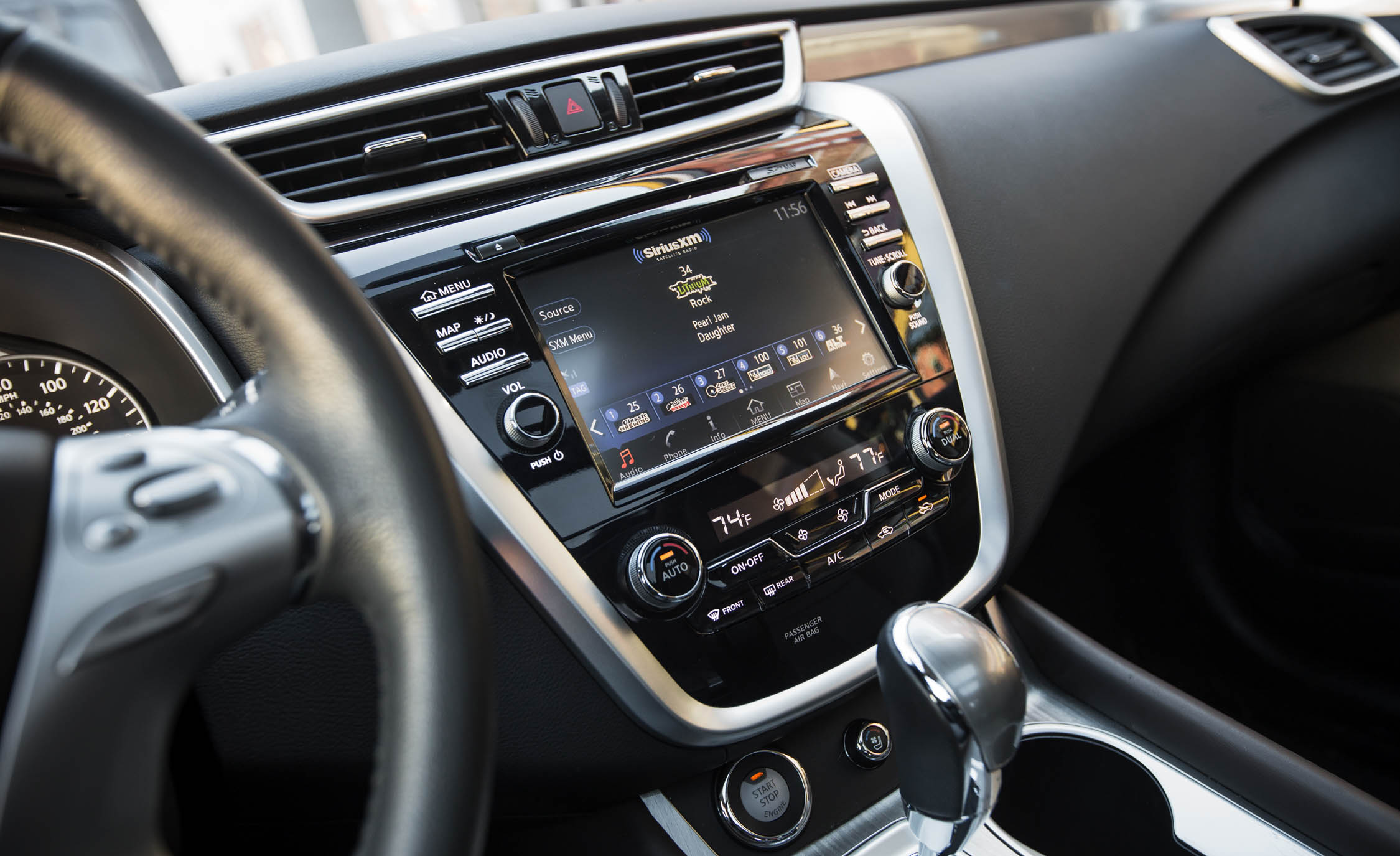 2015 Nissan Murano Platinum AWD Interior Panel