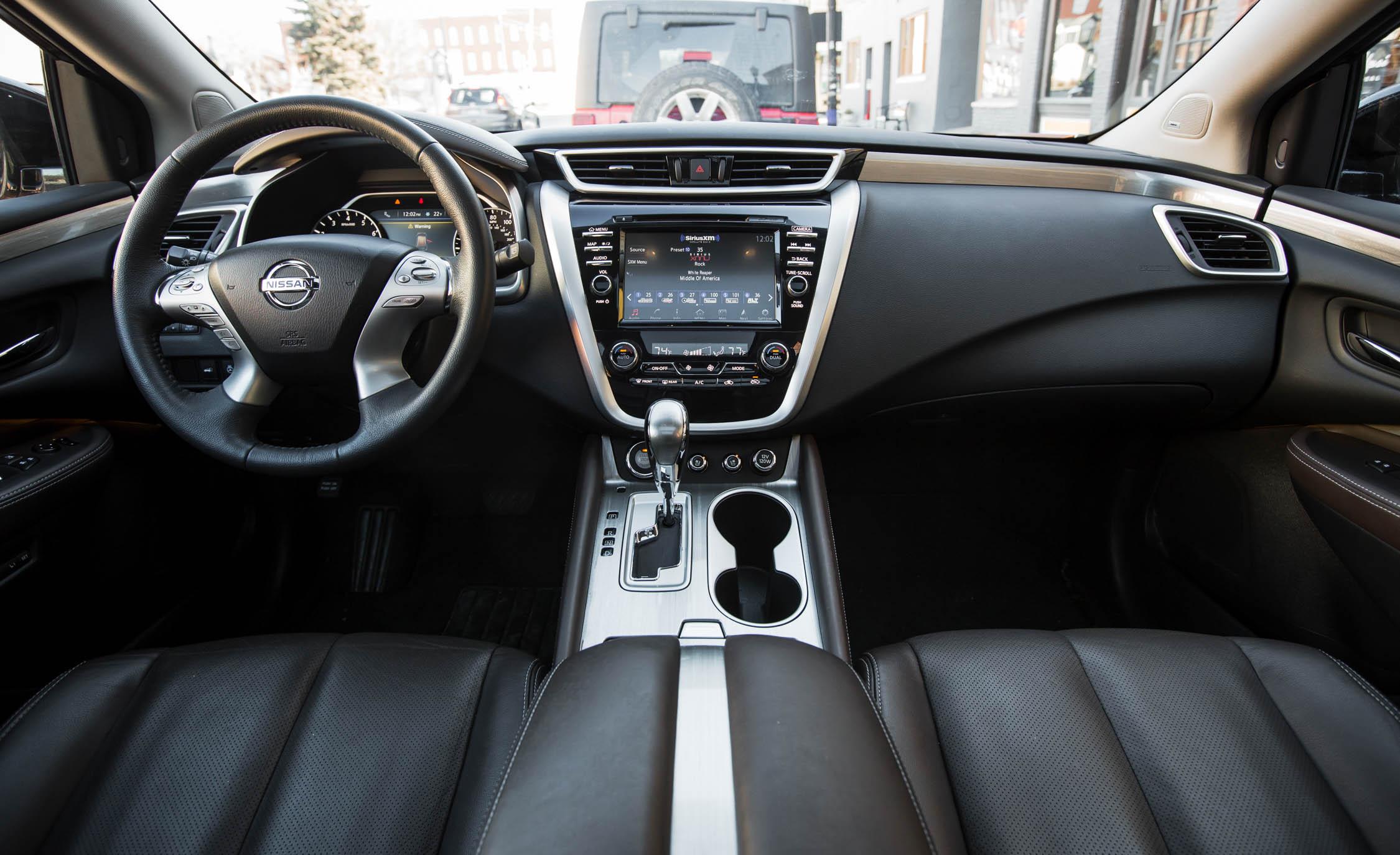 2015 Nissan Murano Platinum AWD Interior