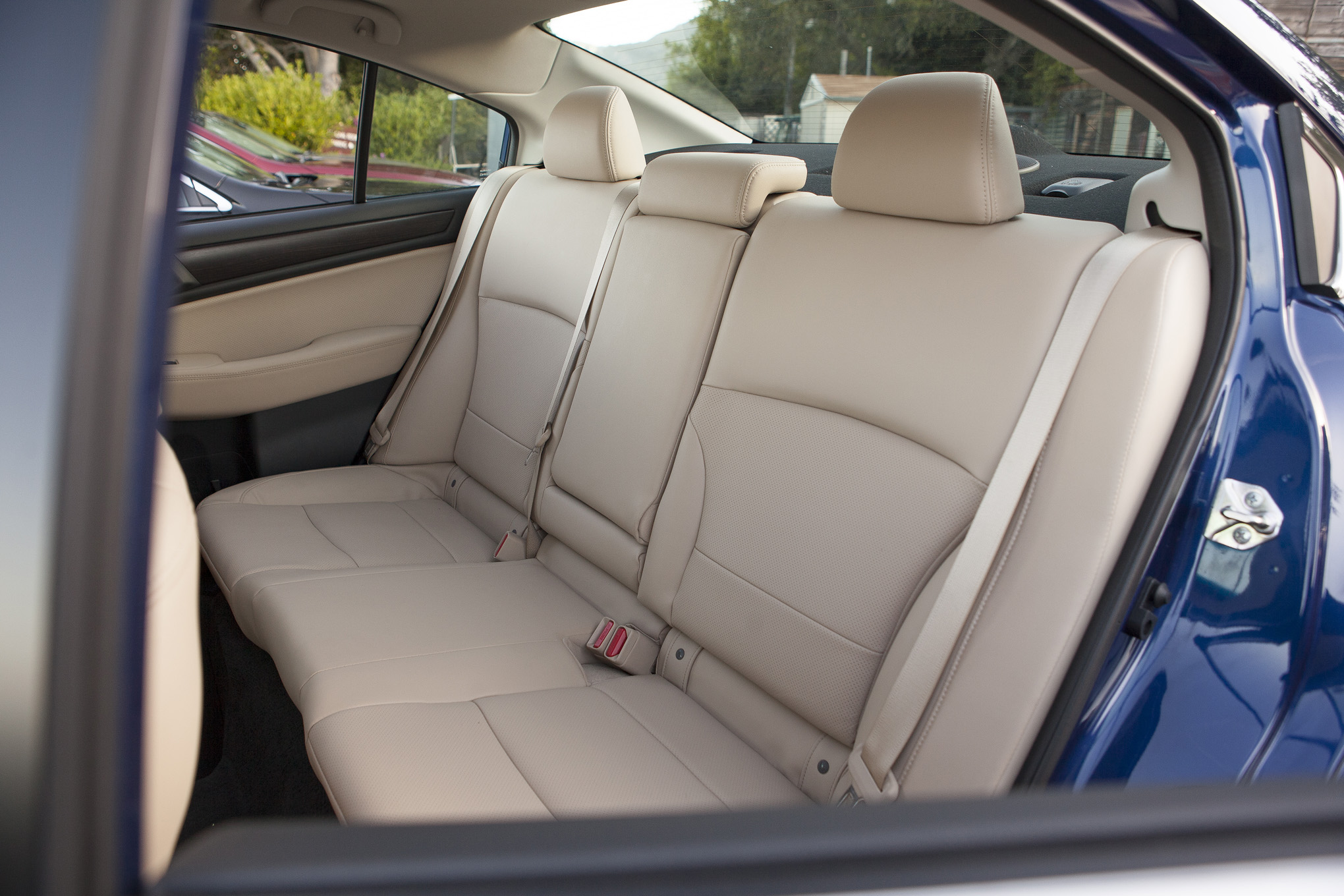 2015 Subaru Legacy Rear Seats Interior