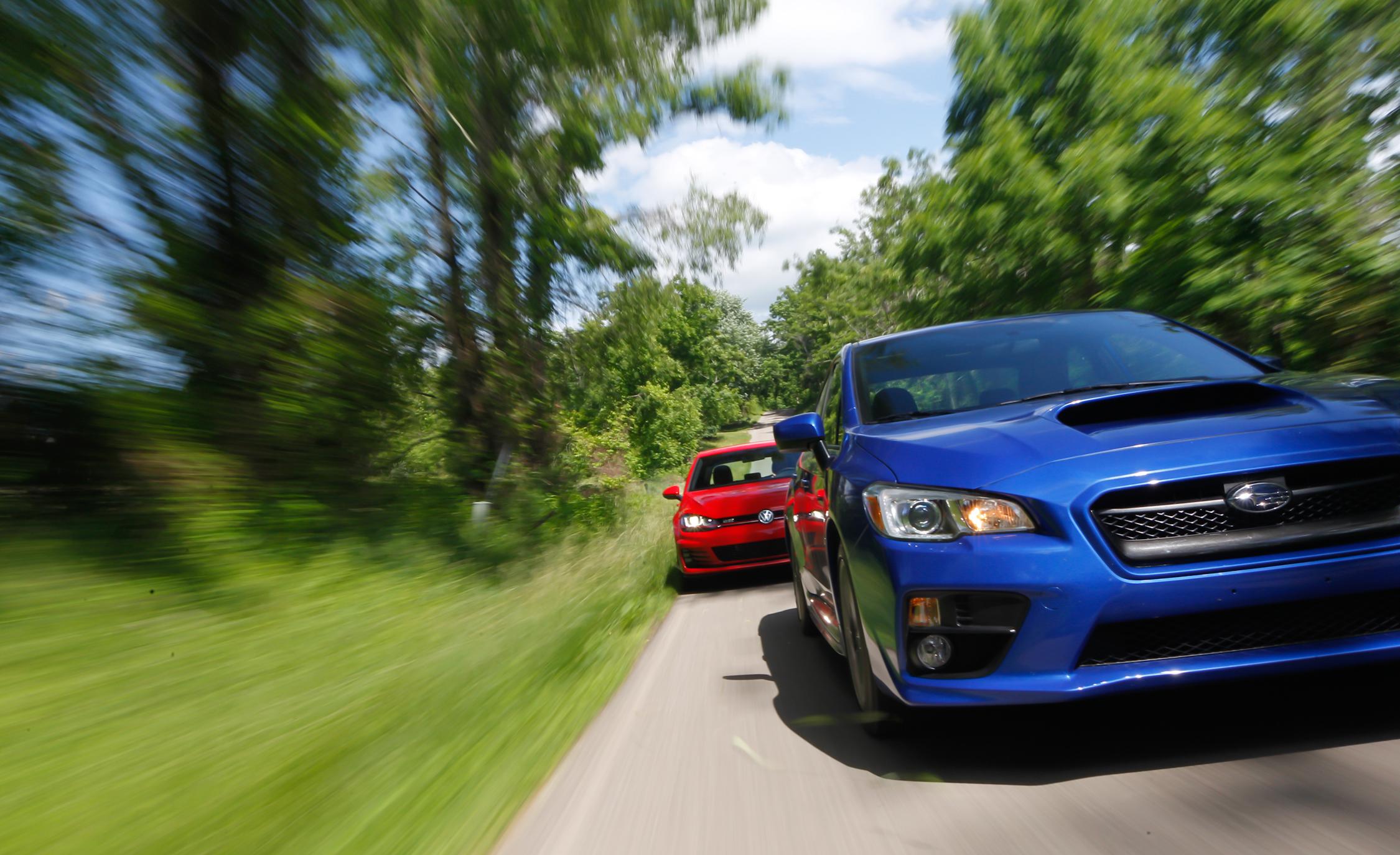 2015 Subaru WRX vs 2015 Volkswagen GTI