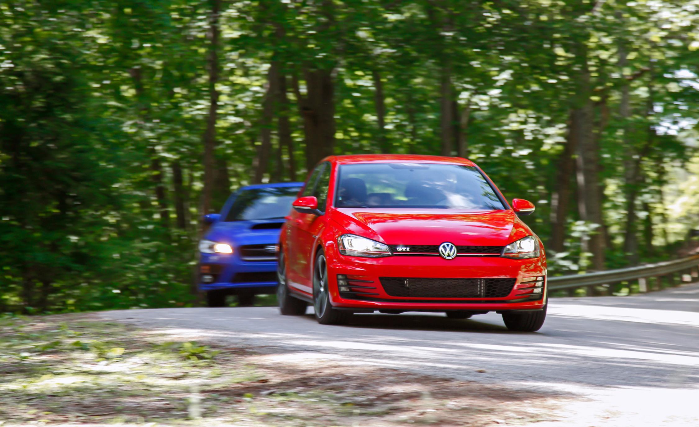 2015 Volkswagen GTI 5-Door vs Subaru WRX Comparison