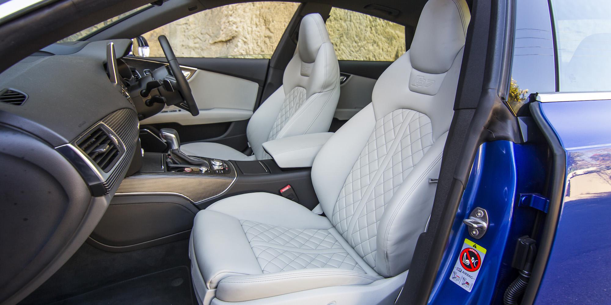 2016 Audi S7 Front Passenger Seat Interior
