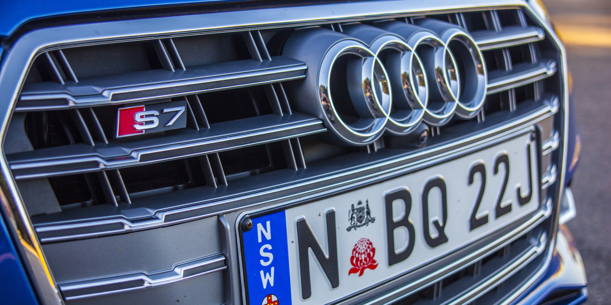 2016 Audi S7 Grille