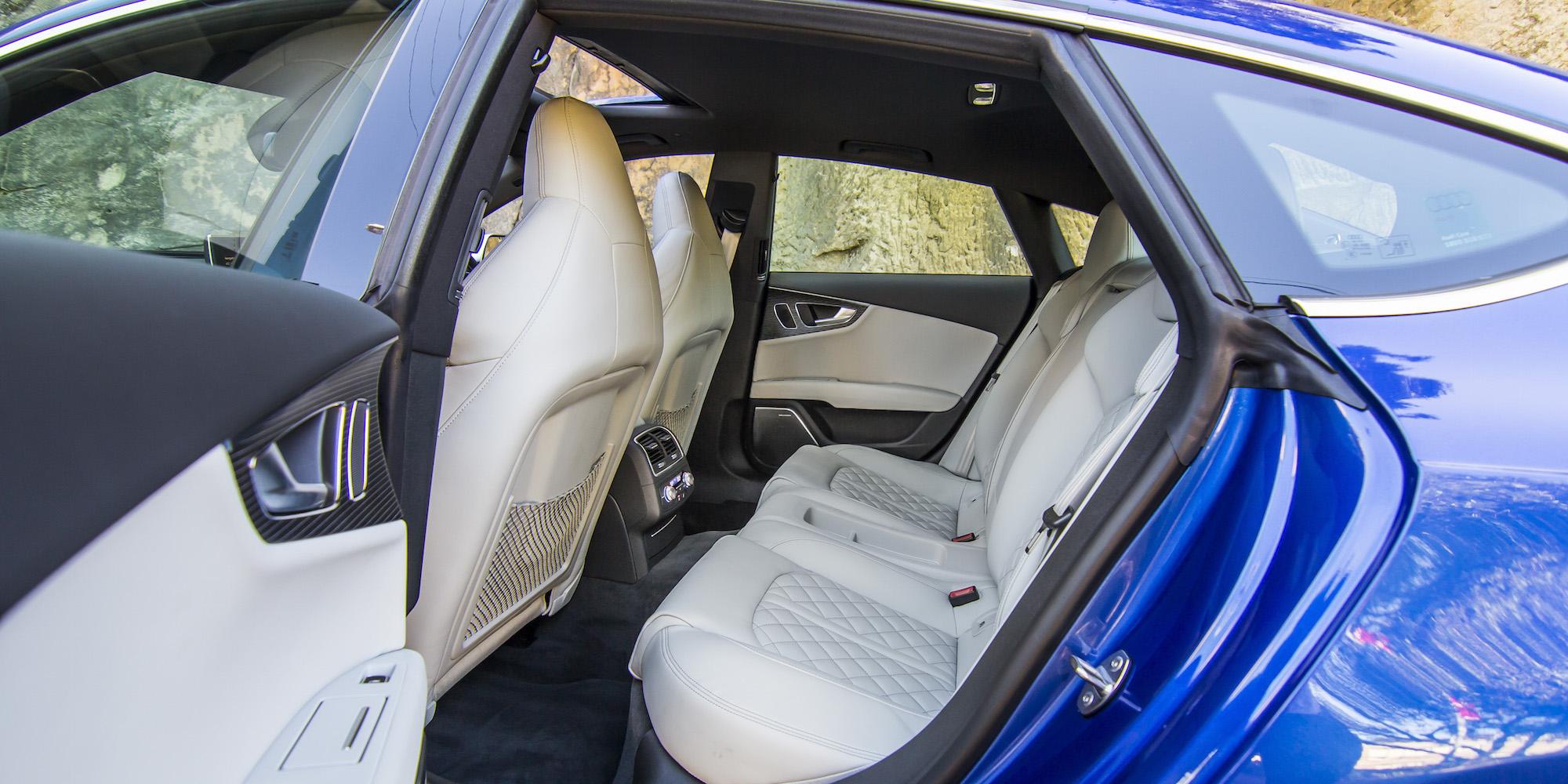 2016 Audi S7 Rear Seats Interior