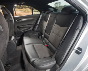2016 Cadillac ATS-V Rear Seats Interior