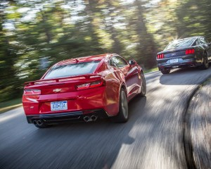 2016 Chevrolet Camaro SS and 2015 Ford Mustang GT Comparison Test