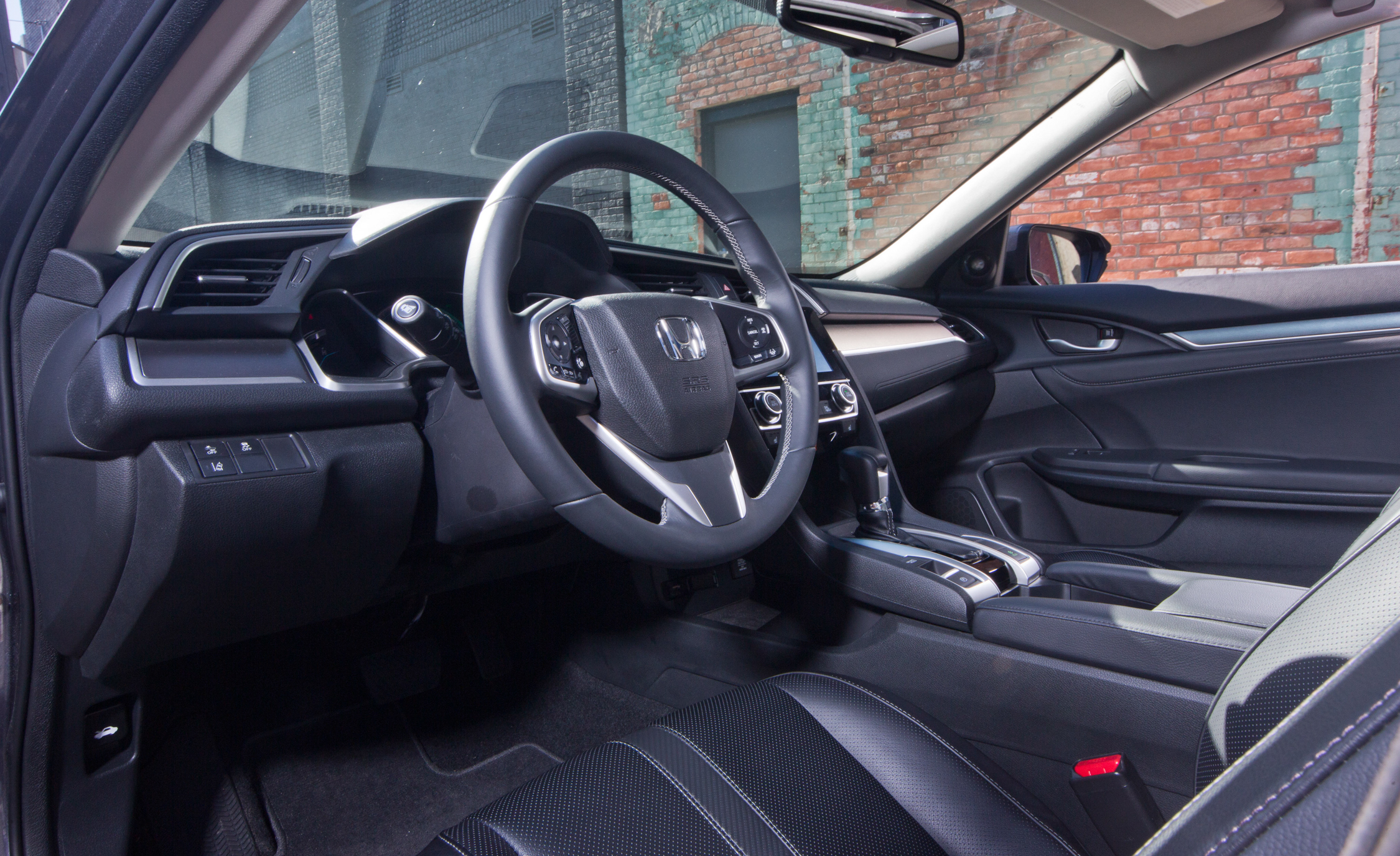 2016 Honda Civic Touring Interior Cockpit