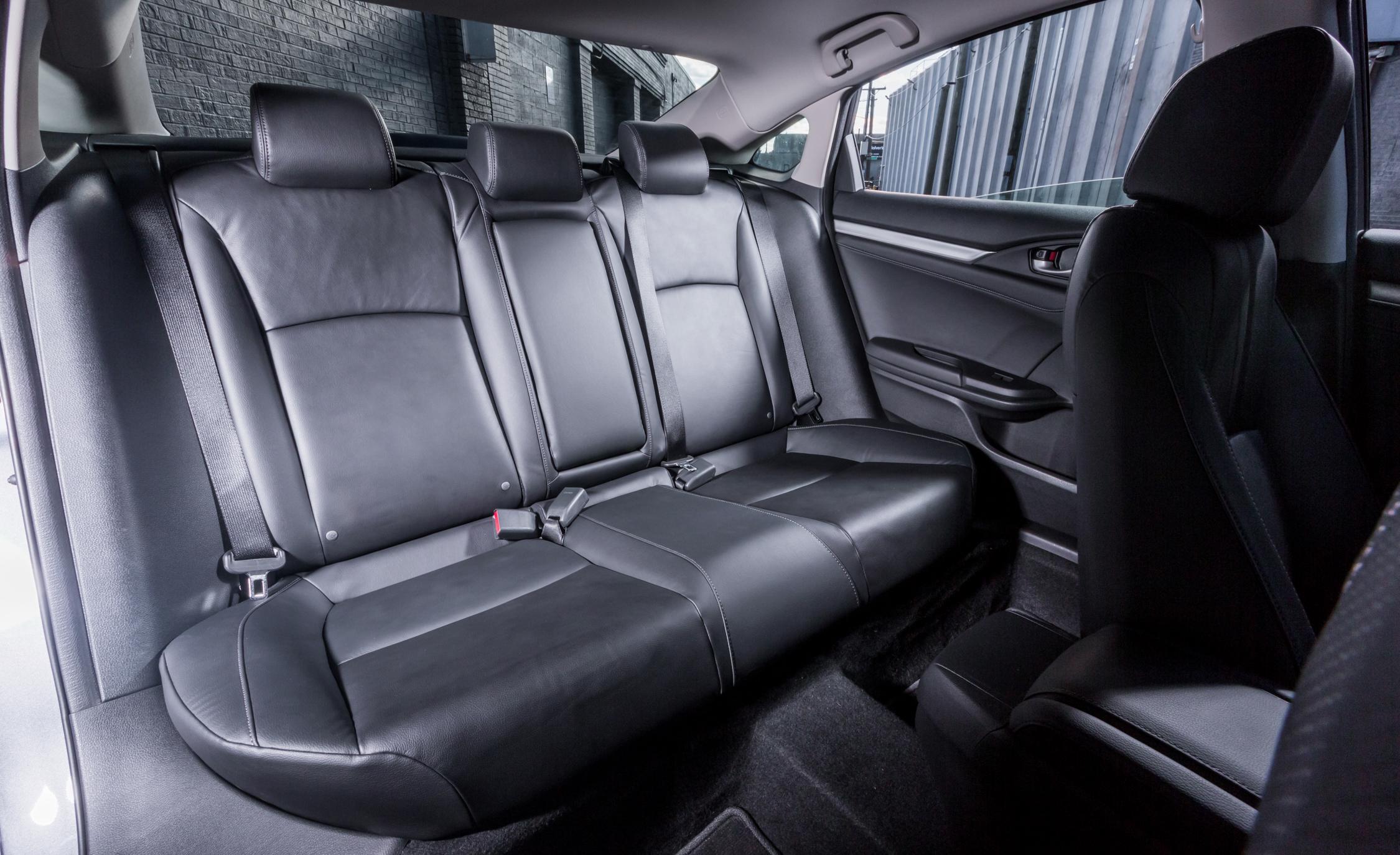 2016 Honda Civic Touring Interior Rear Seats