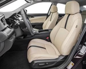 2016 Honda Civic Touring Sedan Interior Front Seats