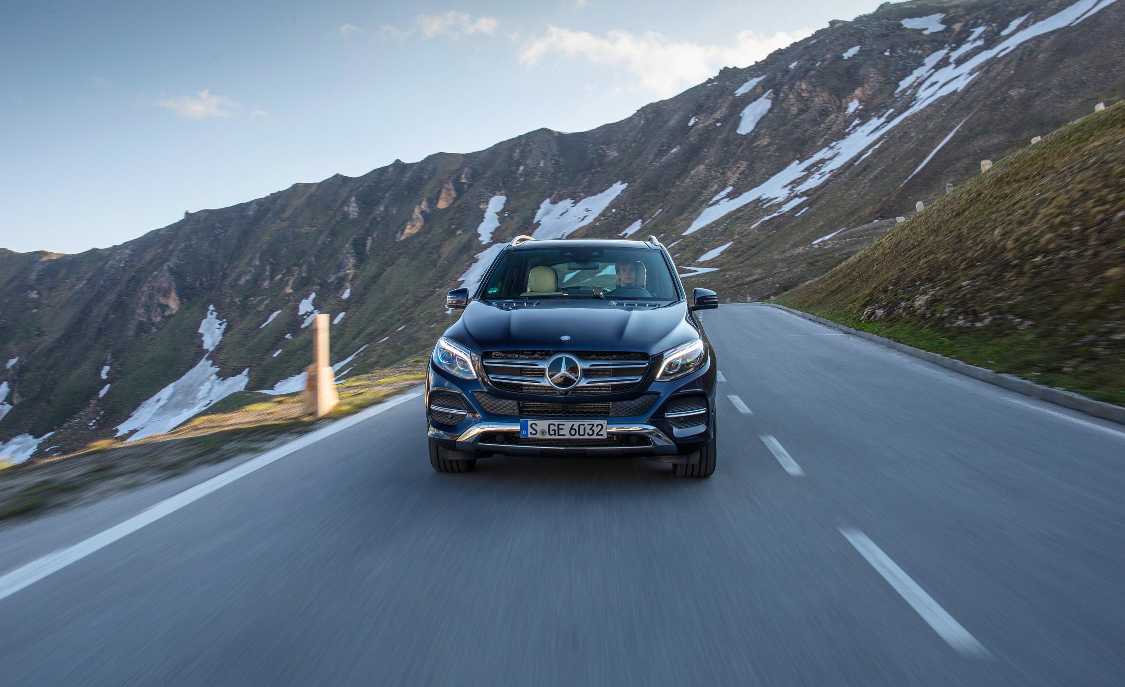 2016 Mercedes-Benz GLE250d 4MATIC Exterior Front