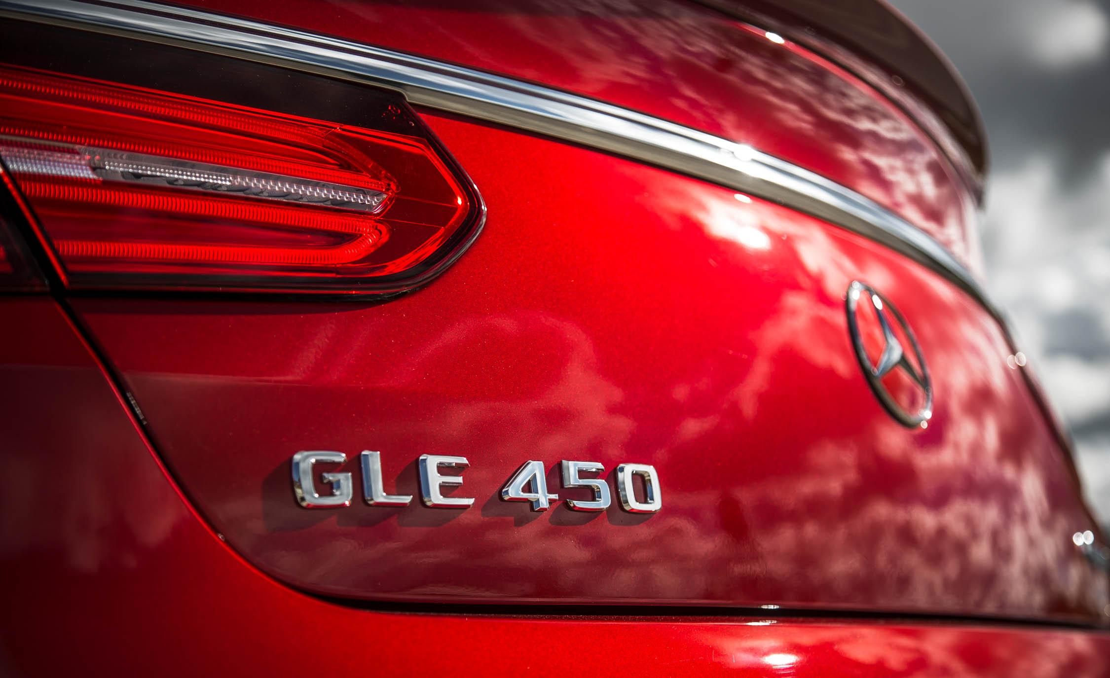 2016 Mercedes-Benz GLE450 AMG Coupe Exterior Rear Emblem