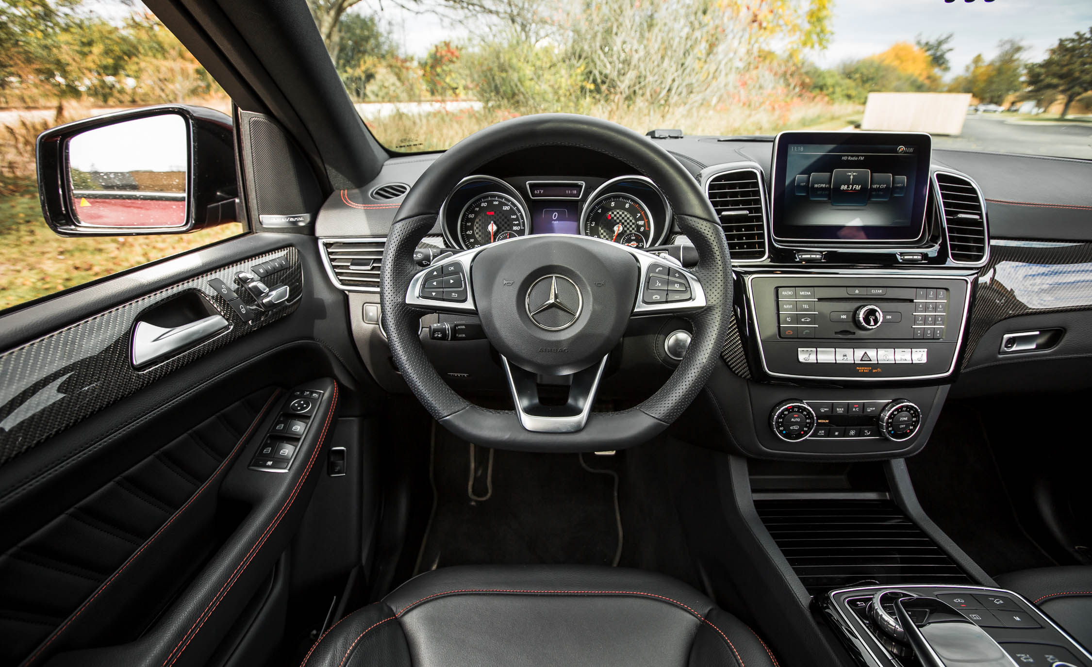 2016 Mercedes-Benz GLE450 AMG Coupe Interior Cockpit
