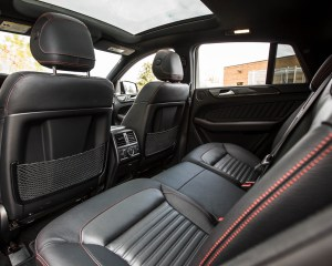 2016 Mercedes-Benz GLE450 AMG Coupe Interior Rear Seats