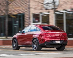 2016 Mercedes-Benz GLE450 AMG Coupe Test Rear View