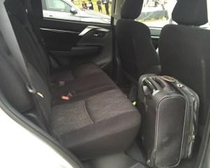 2016 Mitsubishi Pajero Sport Rear Seats Interior Space
